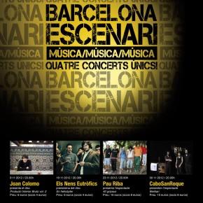 Barcelona Escenari, 1a edició