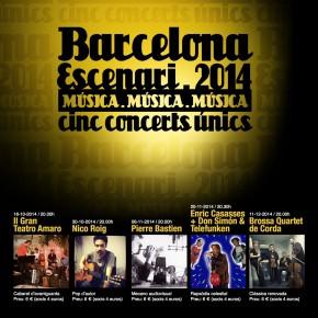 Barcelona Escenari, 3a edició a l'Octubre CCC (València)