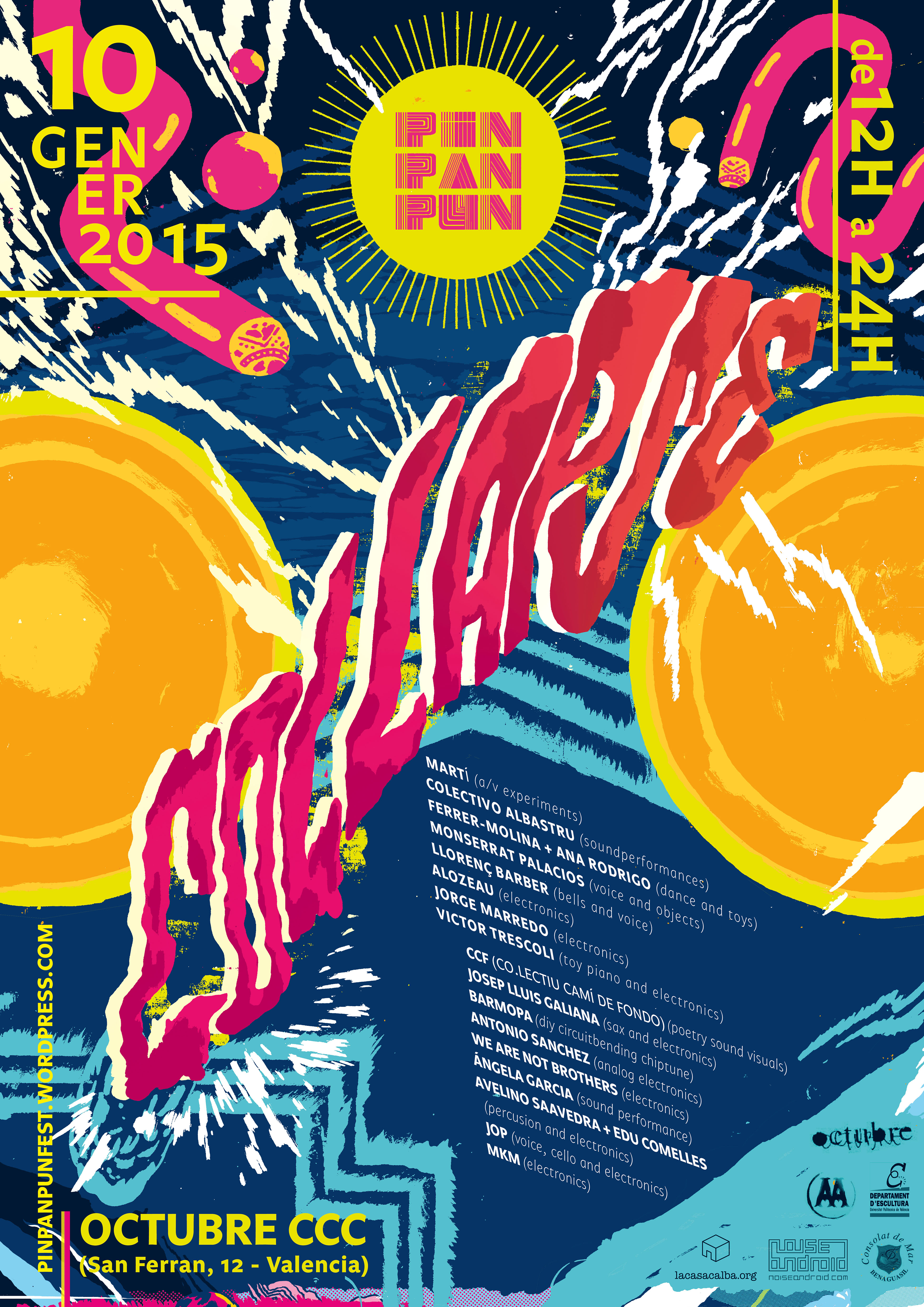 LaCasaCalba col·labora en el Festival d'art sonor i experimentació  PinPanPun Collapse