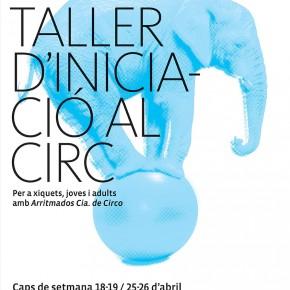 En abril, el Teatre del Raval acull tallers de circ per a xiquets, joves i adults
